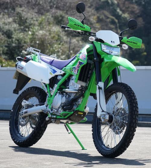 Front klx250