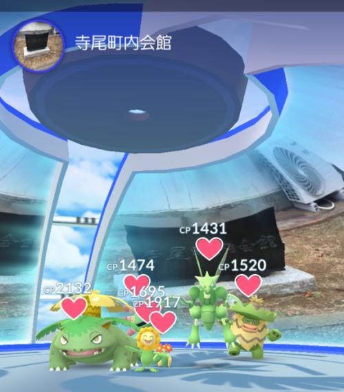 Pokémon GO_緑縛り
