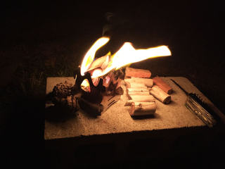 Mini fire stand 2