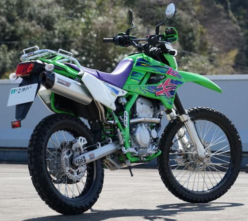 Rear klx250