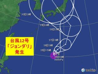 ジョンダリ-台風