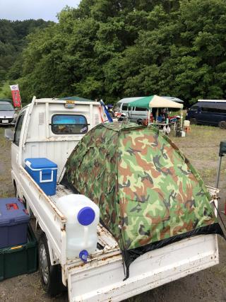 荷台-テント