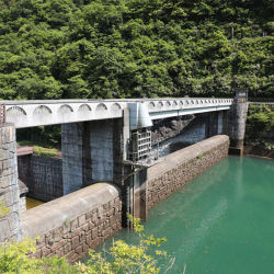 021-小ぢんまりの石小屋ダム