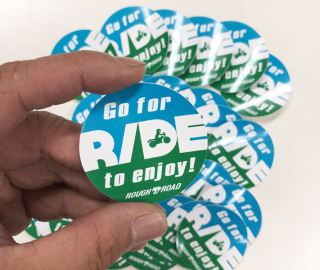 Go for RIDE sticker