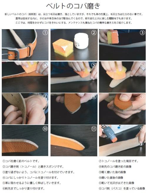 コバ磨きの仕方