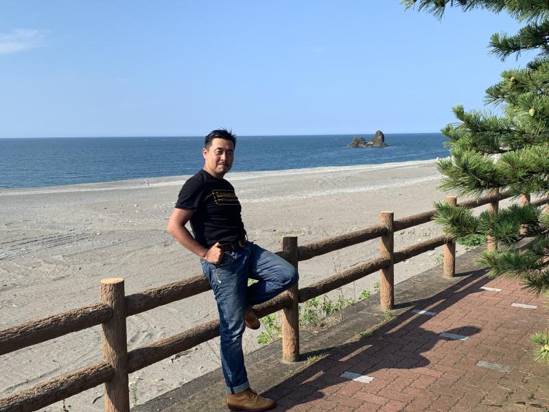 来たぜ~日本海!