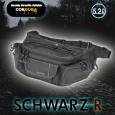 RR9553 SCHWARZ R ウエストバッグ ワイド