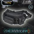 RR9551 SCHWARZ R F-ウエストバッグ