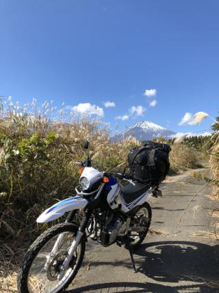 3すすき道からの富士山