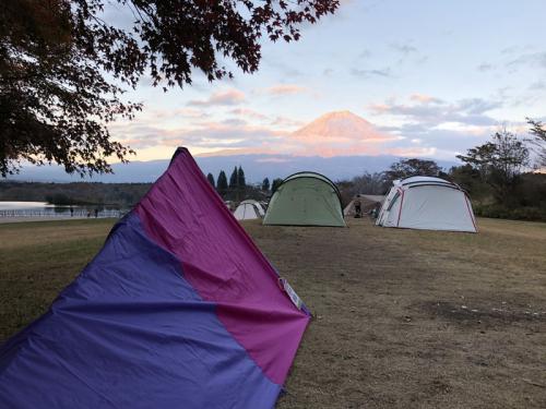 10テント設営完了!