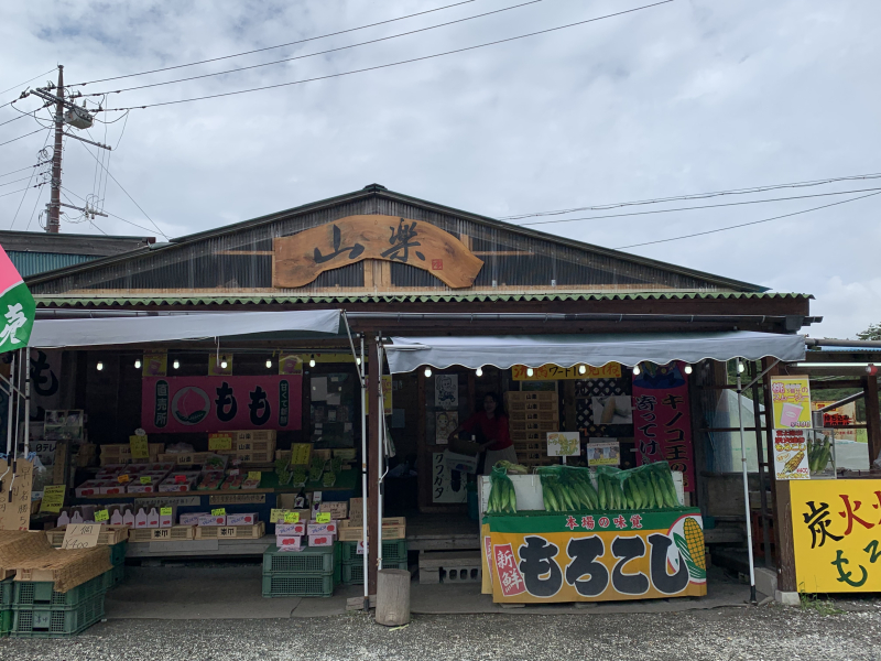 キノコ王のお店