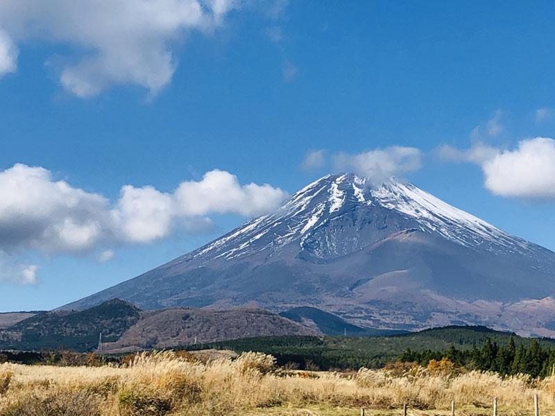 5忠ちゃんからの富士山