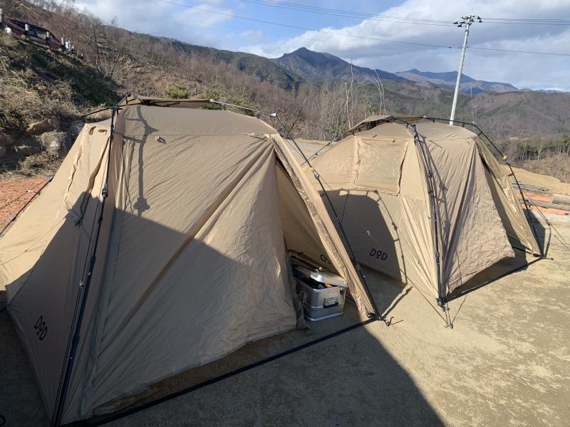俺のテント