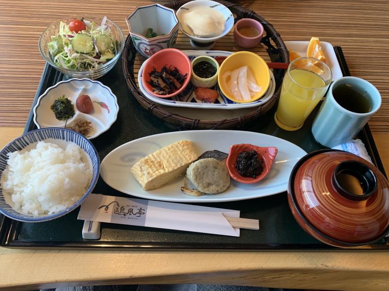朝食もイイネ!