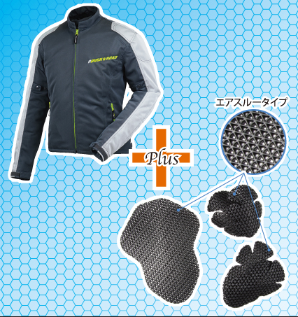 86db870082a2c4 PRODUCT INFORMATION: RR7318PS ラフメッシュジャケットパッドセット