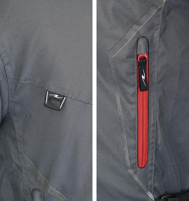 RR7242PS ライディングジャケットパッドセット ポケット
