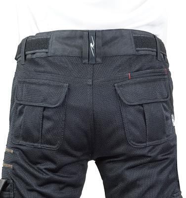 RR7516LF バイカーZIPメッシュパンツルーズフィット ポケット