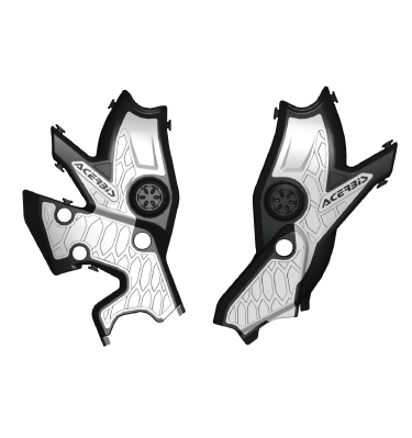 ACERBIS X-GRIP FRAME PROTECTOR【新適合:AC-24666 YAMAHA TENERE 700('19-'21)】